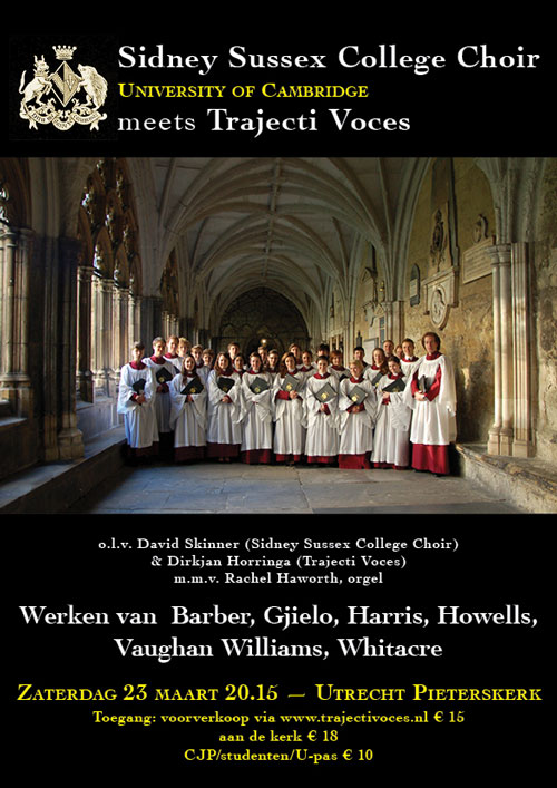 Sidney Sussex & Trajecti Voces